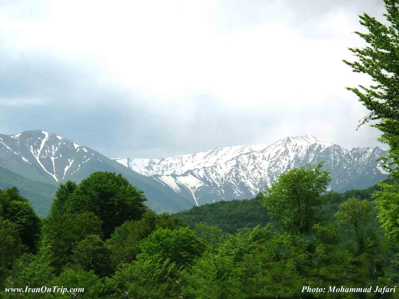 Kelardasht Village in Mazanderan Iran