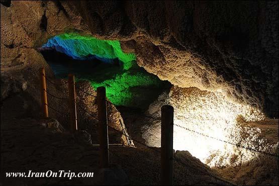 Chal Nakhjir Cave in Iran