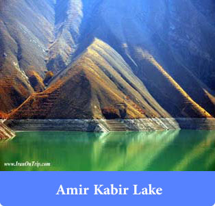 Amir Kabir Lake - Lakes of Iran