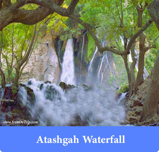Atashgah-Waterfall - Waterfalls of Iran