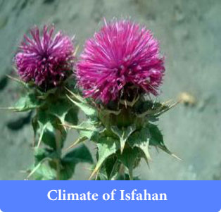 Climate of Isfahan