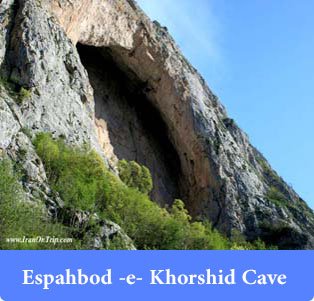 Espahbod--e--Khorshid-Cave - Caves of Iran