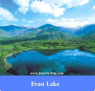 Evan Lake - Lakes of Iran