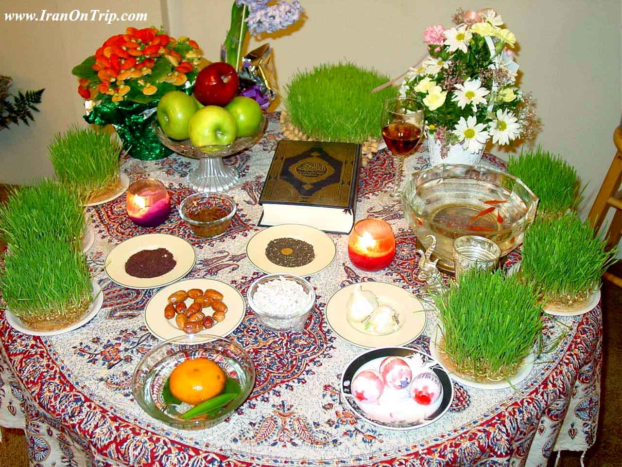All about Nowruz in Iran and ceremony