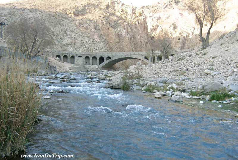 Haraz River in Iran