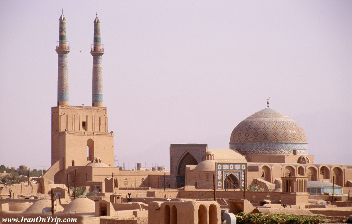 Jame Mosque of Yazd - Historical Mosques of Iran