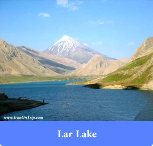 Lar Lake - Lakes of Iran