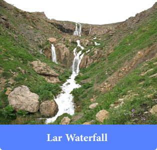 Lar-Waterfall - Waterfalls of Iran