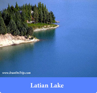 Latian Lake - Lakes of Iran