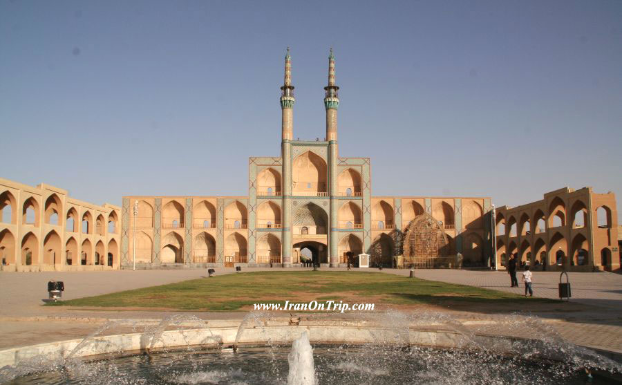 Mir Chaqmaq Mosque of Yazd - Historical Mosques of Iran
