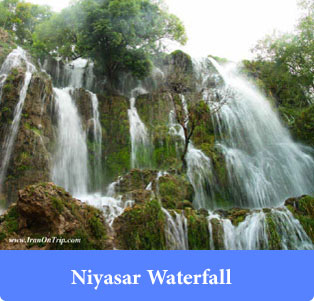Niyasar-Waterfall - Waterfalls of Iran