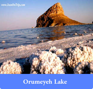 Orumeyeh Lake - Lakes of Iran