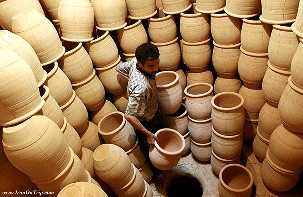 Pottery and Ceramics - Iranian Art