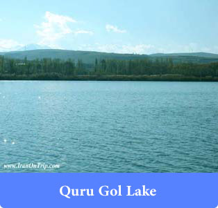 Quru Gol Lake - lakes of Iran