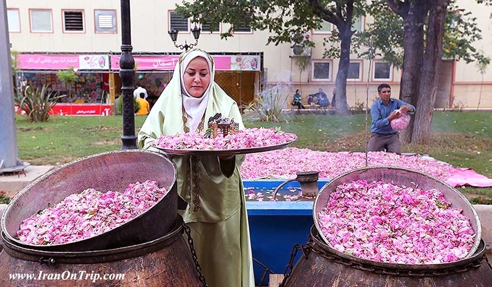 Festival of Rose and Rose Water in Kashan Iran