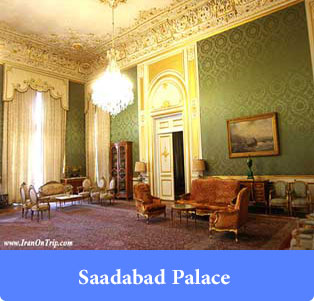 Saadabad Palace in Tehran-Palaces of Iran
