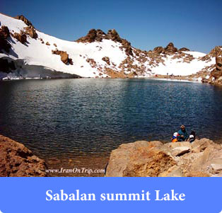 Sabalan-summit-Lake -Lakes of Iran