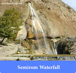 Semirom-Waterfall - Waterfalls of Iran