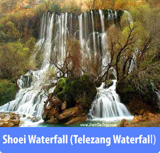 Shoei-Waterfall (Telezang-Waterfall) - Waterfalls of Iran