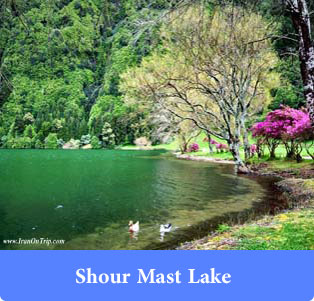 Shour Mast Lake - Lakes of Iran