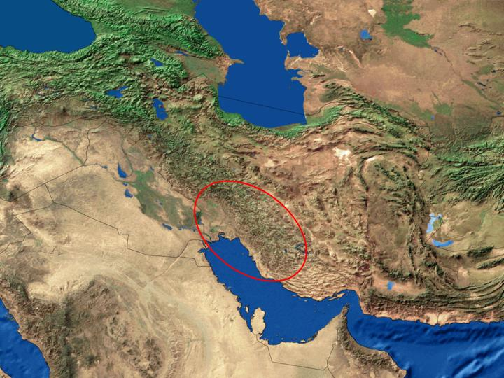 plains of iran