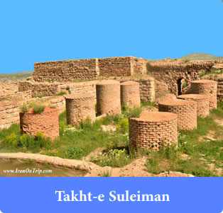 Takht- e Suleiman - Holy Places in Iran