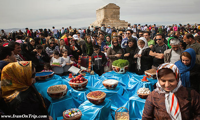 No-Rooz, The Iranian New Year at Present Times