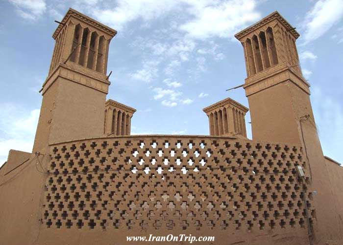 Windcatchers of Yazd - Windcatchers of Iran - Badgir - Wind-trappers-of-Iran