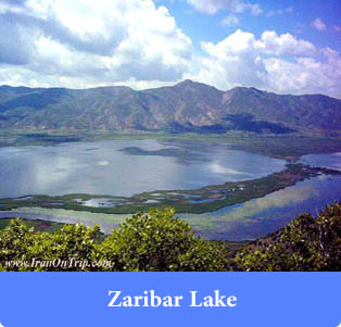 Zaribar Lake - lakes of Iran